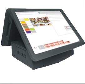 shopspeed SS-1515TA touch, dual-screen touch cash register, 15 inch dual screen tea registers